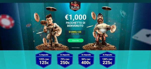 Slot10 nuovo casinò per giocatori high rollers